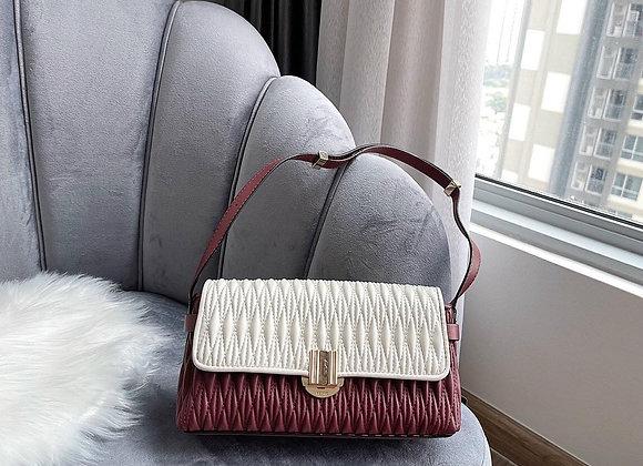 PEDRO SHOULDER BAG WITH PRECIOUS STONE CLOSURE