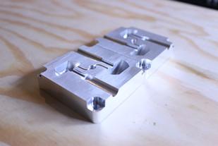 Rubber foot aluminum tool
