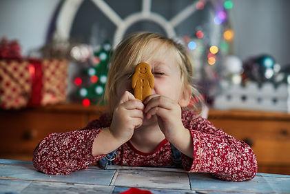 Dziewczyna z Gingerbread Man
