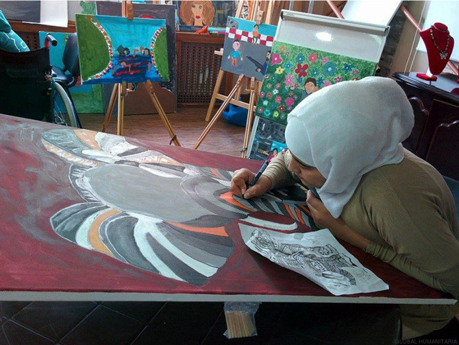 Art Therapy for Syrian Refugees