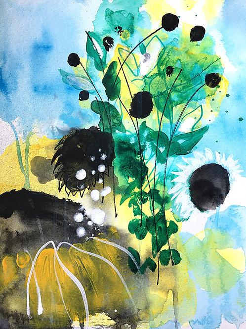 Sonnenblumen Küsse