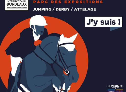 De retour du Jumping International de Bordeaux