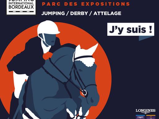 De retour du Jumping International de Bordeaux