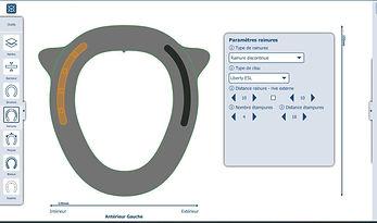 Logiciel de conception fers à cheval numérique