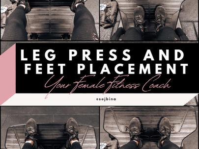 Leg Press And Feet Placement Explained