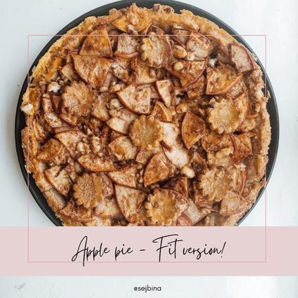 Apple Pie: Fit, Sugar and Gluten-Free Recipe