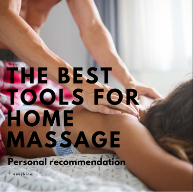 Massage, tips, benefits and tools for home self/partner massage.