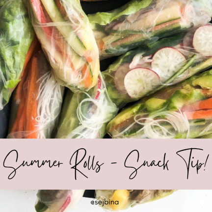 The Recipe For The Best SUMMER ROLLS