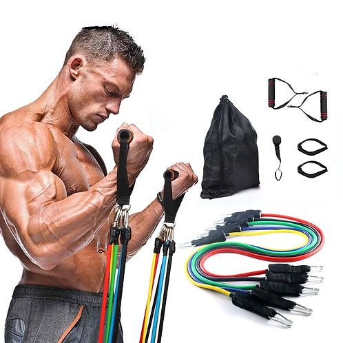 Pull Rope Workout Bands Resistance Bands Latex Tubes