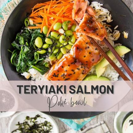 Teriyaki Salmon Poké Bowl   Have You Ever?😋