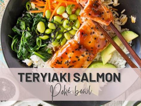 Teriyaki Salmon Poké Bowl | Have You Ever?😋
