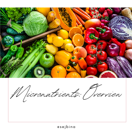 Micronutrients: Overview