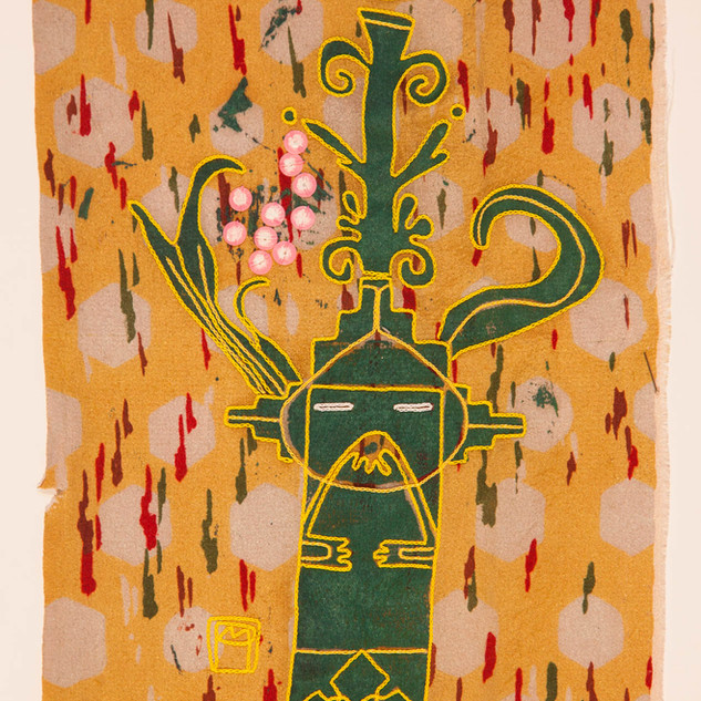psychopompe sur Kimono; Marie Pourchot.jpg