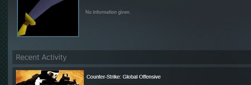 Steam account hours old