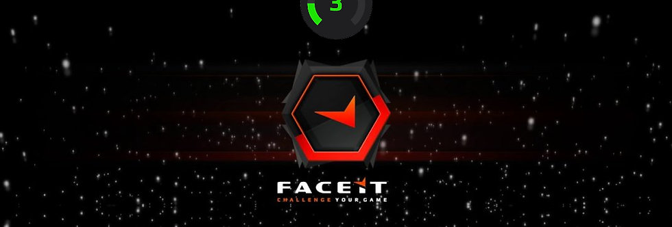 Faceit Level 3 Account | +100 Matches | 700 Hours