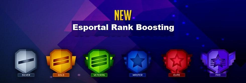 Esportal Rank Boost