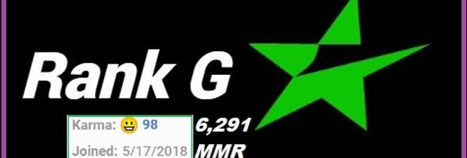 #2 ✪ ESEA Rank G Account | 6,291 MMR | Registered in 2018' | EU/NA Region ✓