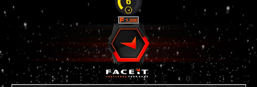 Faceit Level 6 | 2.18 K/D | 1,500 Points | 27 Avg. Kills | Instant Delivery