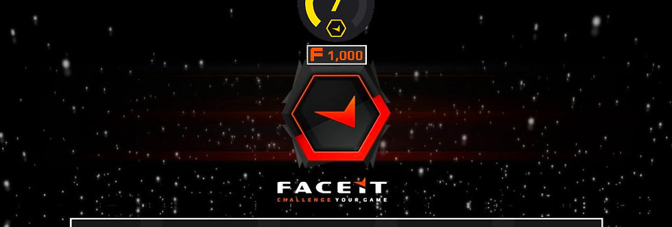 Faceit Level 7 +1 Win | 1.20 K/D  | 1,500 Points | Verified | Instant Delivery
