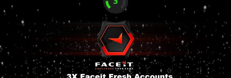 3X Bundle ✔️ Faceit Level 3 ✔️ CS:GO&Dota 500+ Hours ✔️ Fresh ✔️Instant Delivery