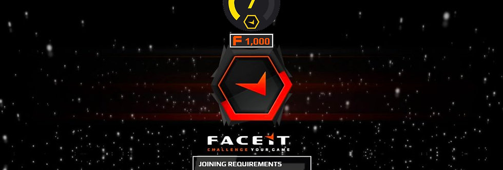 🎁 Faceit Level 7 | 1.30+ K/D | 1,000 Points | < 2 Hour Delivery