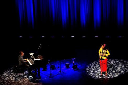 Show da cantora Maria João(Portugal). Projeto Unimúsica. Porto Alegre. 2011. Foto: Maciel Goelzer