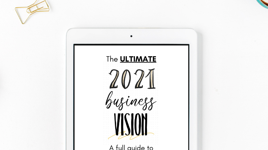 Ultimate Business Vision + Accountability Planner