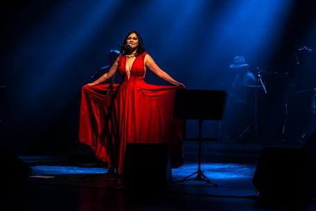 Show de lançamento do LP Zulusa, de Patrícia Bastos