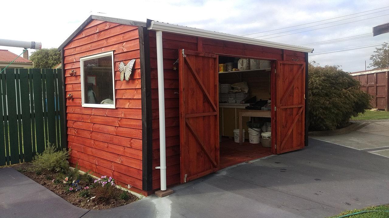 Rustic garden sheds for Versatile sheds prices