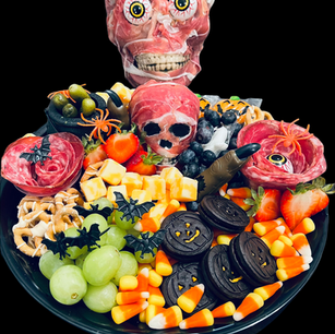 Spooky Tray with a Prop