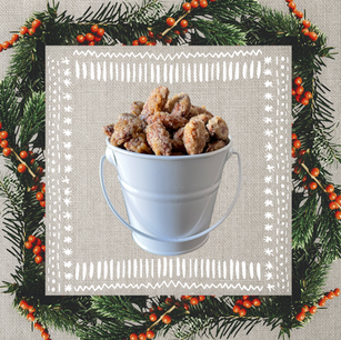 1/2 LB Pail of Candied Almonds