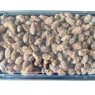 3/4 LB Box Candied Almonds