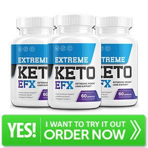 Extreme Keto EFX Bottle