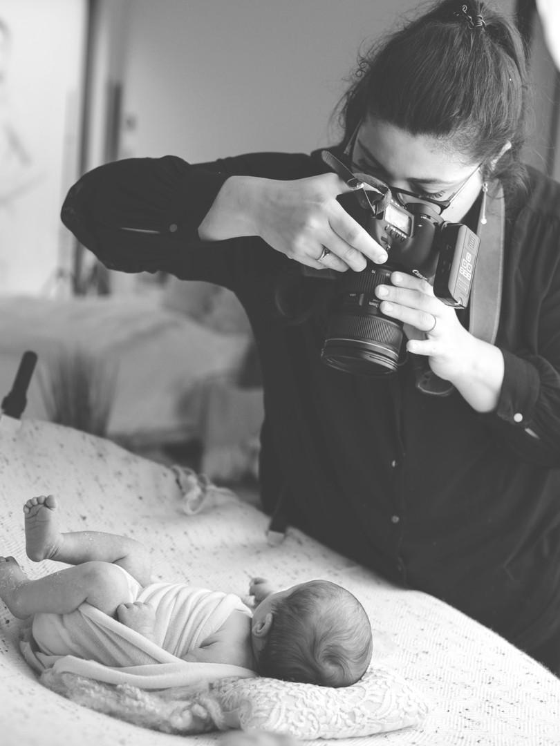 Sabrina Avrillon séance nouveau né
