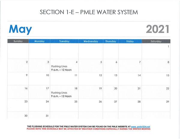 Water System - Water Flushing May 2021.j