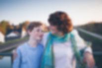 Familienfotograf in München, Mutter mit Sohn Fotografie