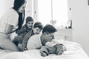 große Familie Fotografie münchen