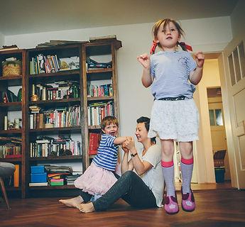 Zuhause bei einer Münchner Familie