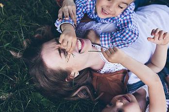Kinderfotograf in München, Familie mit Zwillingen