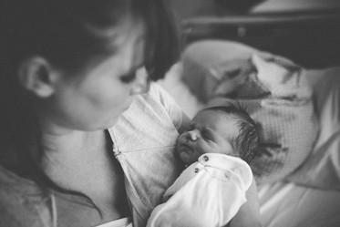 babyfotosession krankenhaus