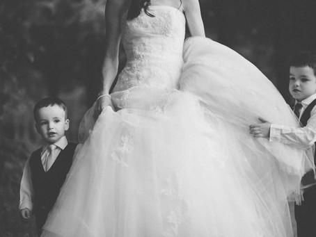Familienshooting im Brautkeid