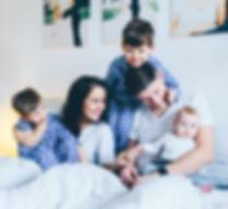 Familienfotosession Familienfotografie Zuhause