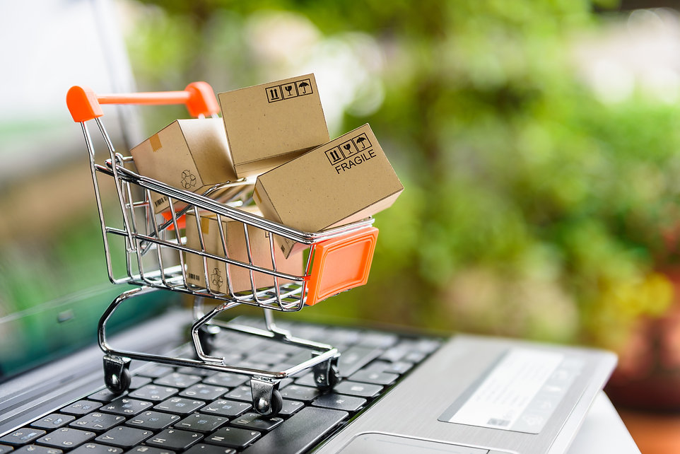 Online shopping and delivery service con