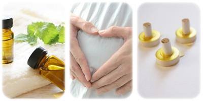 妊婦さんのためのアロマ&お灸講座が始まります。