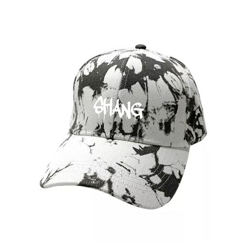 White Tie Dye SHANG Cap