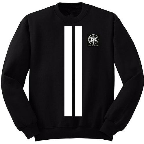 Vertical Stripe Sweatshirt