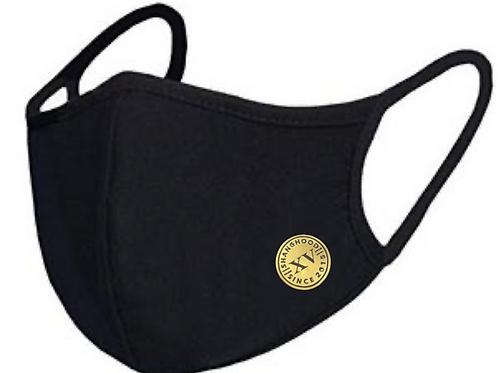 Reusable Logo Mask Gold