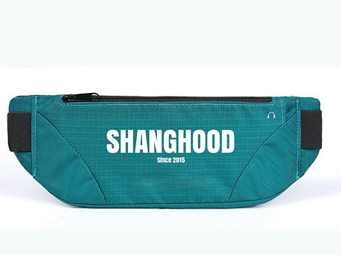 SHANG Project 2020 Turquoise Fanny Pack