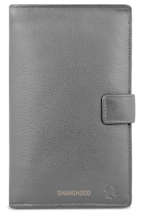 Bi-Fold Ladies Black Wallet