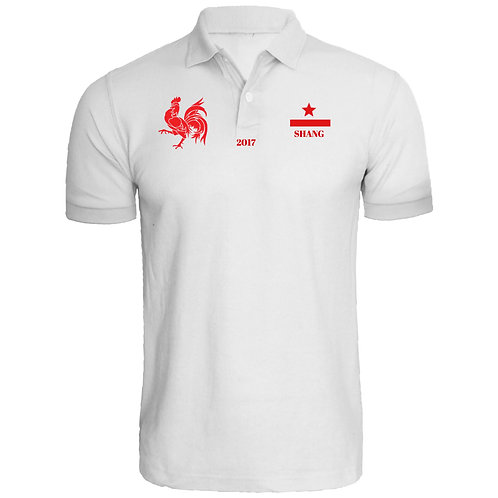 FIRE ROOSTER Polo Tee